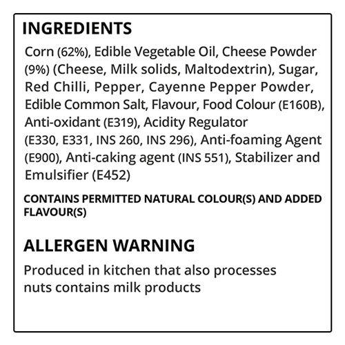 4700BC Cheese Popcorn - Sriracha Lime, 35 gm