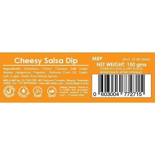 All That Dips Very Cheesy Salsa - Salsa Con Queso, 150 g