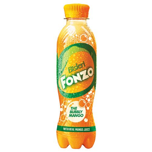 Bisleri  Fonzo- The Bubbly Mango, 200 ml