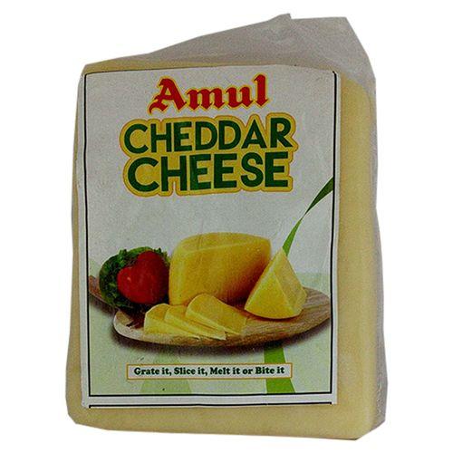 Amul Cheese - Cheddar, Natural, 250 g