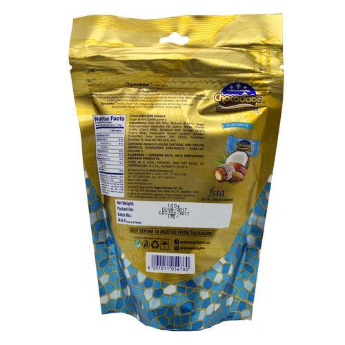 Arabian Delights Milk Coconut - Chocolate with Almond, 100 gm