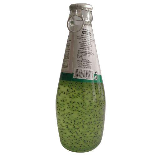 Fruitoria Basil Seed Drink - Mint, 290 ml