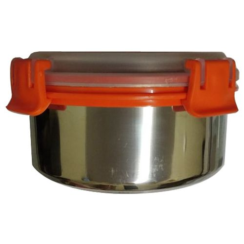 Buy Classic Essential Lunch Box Steel Lock Seal Bento 400 Ml Online