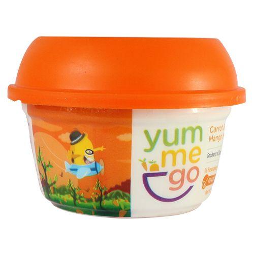YumMeGo Ready To Eat - Carrot & Mango Mash, 100 gm