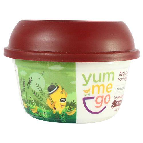 YumMeGo Ready To Eat - Ragi Banana Porridge, 100 gm