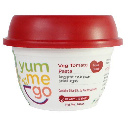 YumMeGo Readt To Eat - Veg Tomato Pasta, 180 gm