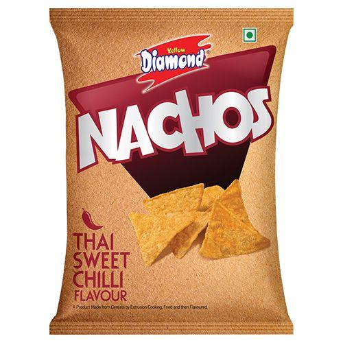 yellow diamond Nachos - Thai Sweet Chilli, 25 gm