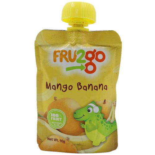FRU2go Fruit Snack - Mango Banana, 90 gm