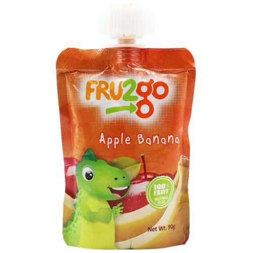 FRU2go Fruit Snack - Apple Banana, 90 gm