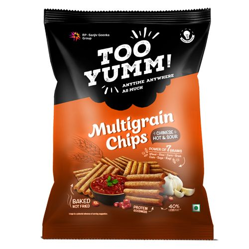 Too Yumm! Multigrain Chips - Chinese Hot & Sour, 28 gm