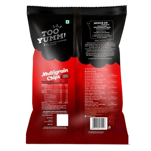 Too Yumm! Multigrain Chips - Tangy Tomato, 28 gm