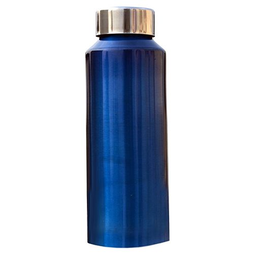 Meet Water Bottle - Blue, Stainless Steel, 500 ml