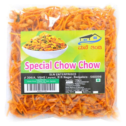 Sln   Namkeen - Chow Chow, Special, 100 gm