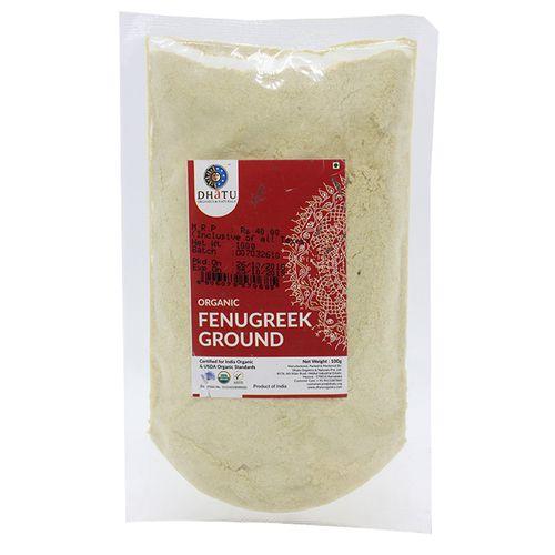 Dhatu Organics & Naturals Organic Ground Fenugreek, 100 g