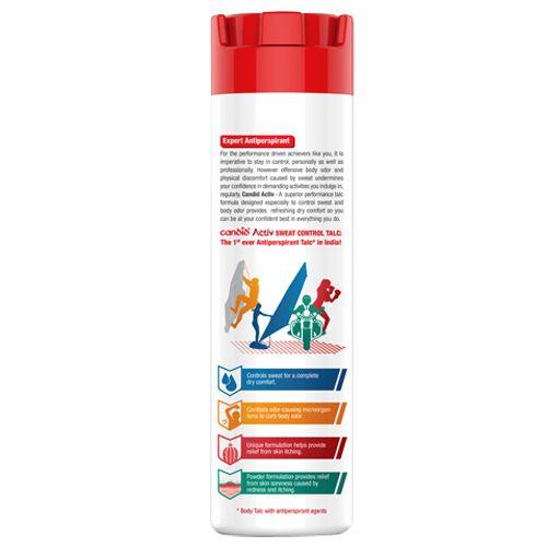 Candid Sweat Control Talc - Activ, 100 gm