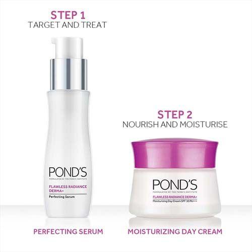 Ponds Derma + Hydrating Day Gel - Flawless Radiance, SPF 15, PA++, 50 gm