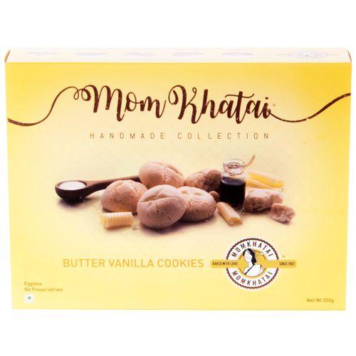 Momkhatai Cookies - Butter Vanilla, 250 gm