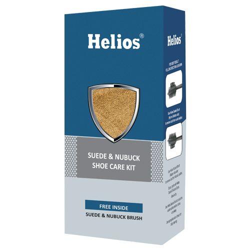 Helios Shoe Care Kit - Nubuck & Suede, Rust, 1 pc