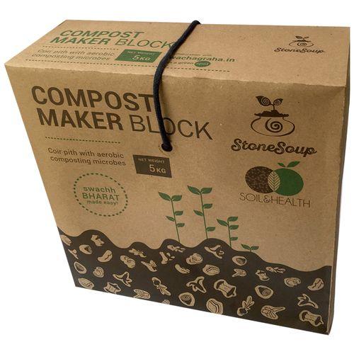 Stonesoup Compost Maker Block, 5 kg