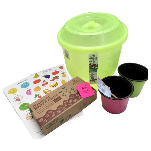 Stonesoup Compost Kit - Green Junior Kit, 6 L
