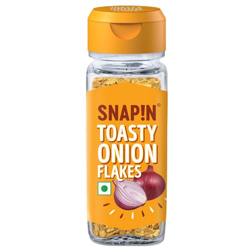 Snapin Toasty Onion Flakes, 25 gm