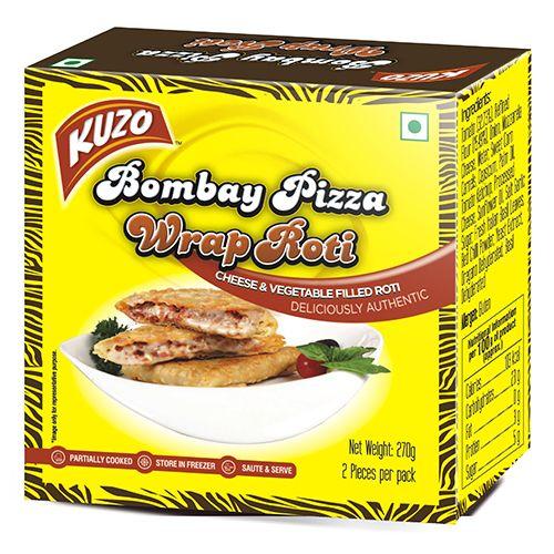 KUZO Wrap Roti - Bombay Pizza, 270 gm