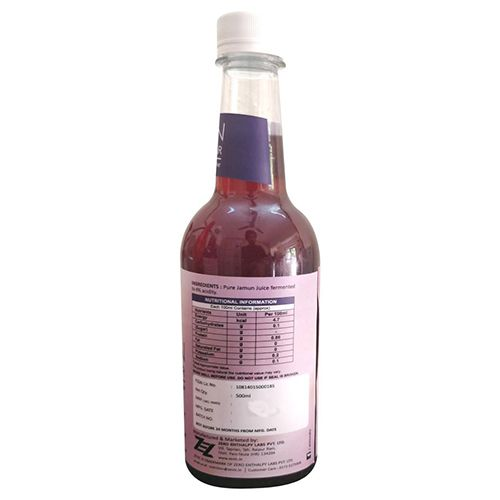 Zevic Vinegar - Jamun, With Mother, 500 ml
