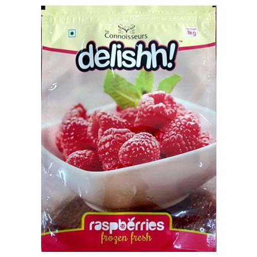 Delishh Frozen Raspberries, 1 kg