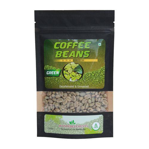 Wonderelements Coffee Beans - Green, Arabica, 150 gm