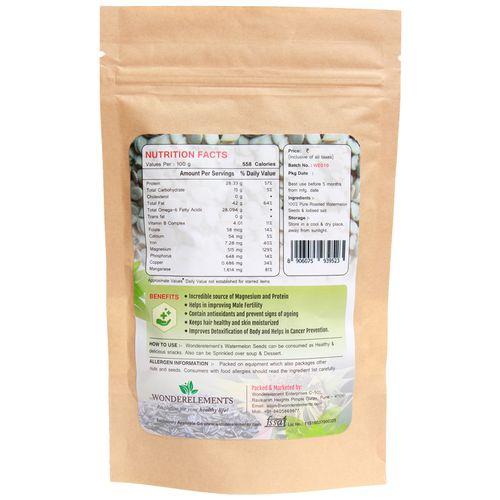 Wonderelements Watermelon Seeds - Roasted, 150 g