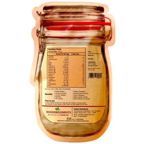 Wonderelements Organic Moringa Powder, 100 g