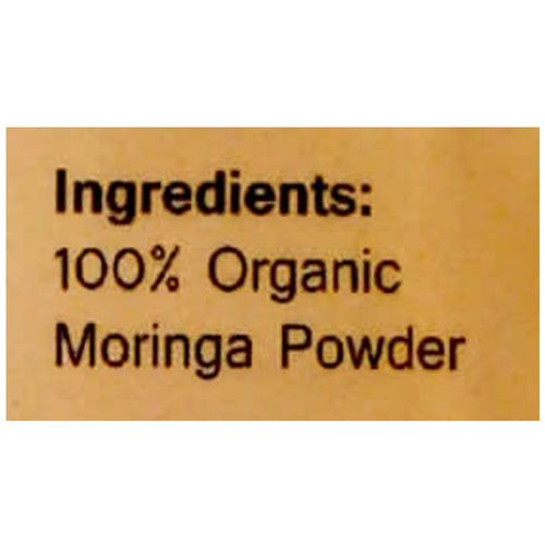 Wonderelements Organic Moringa Powder, 100 g