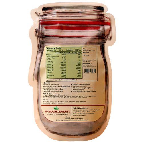 Wonderelements Organic Wheat Grass Powder, 100 g