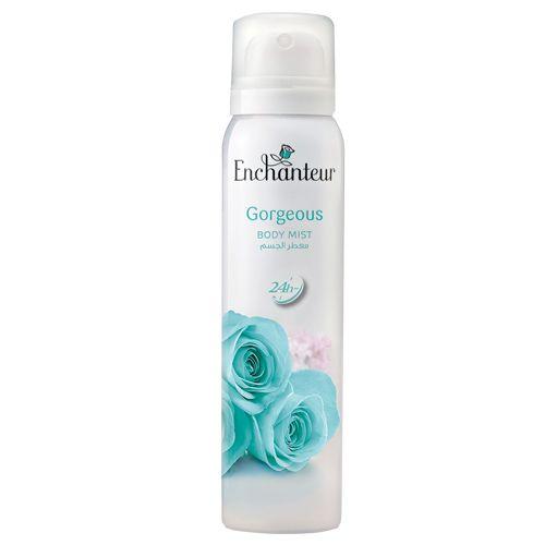 Enchanteur Gorgeous Body Mist For Women, 150 ml