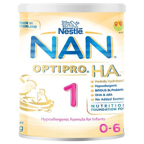 Nan OptiPro Formula for Infants - Hypoallergenic, 1 HA, 800 g