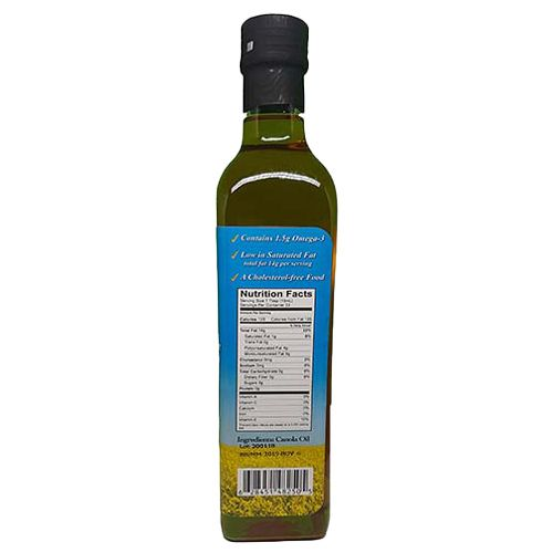 NORTH PRAIRIE GOLD Extra Virgin Canola Oil, 250ml, Cold Pressed, Fully Produced & Packed in Canada, 250 ml