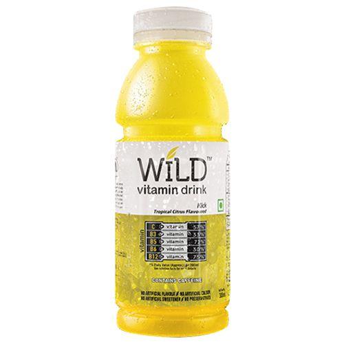 Wild Vitamin Drink - Tropical Citrus, 300 ml