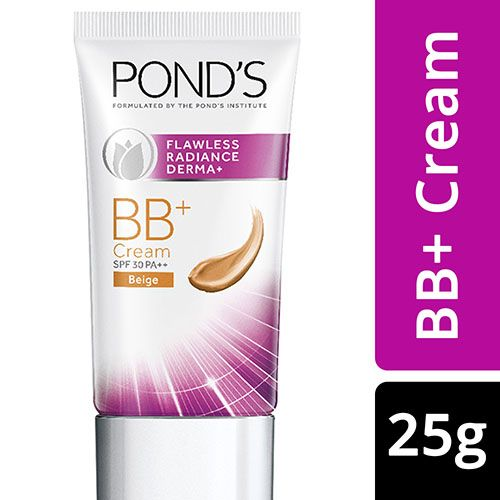Ponds Cream - BB+, Flawless Radiance Derma+, 25 gm