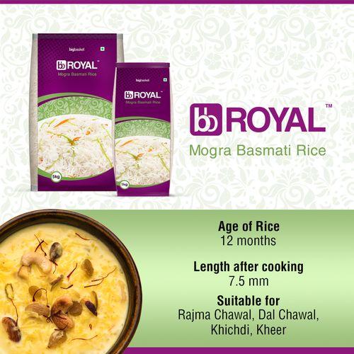 bb Royal Basmati Rice - Mogra, 1 kg