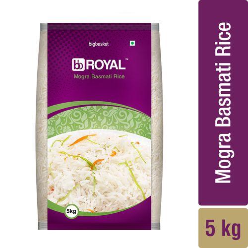 bb Royal Basmati Rice - Mogra, 5 kg