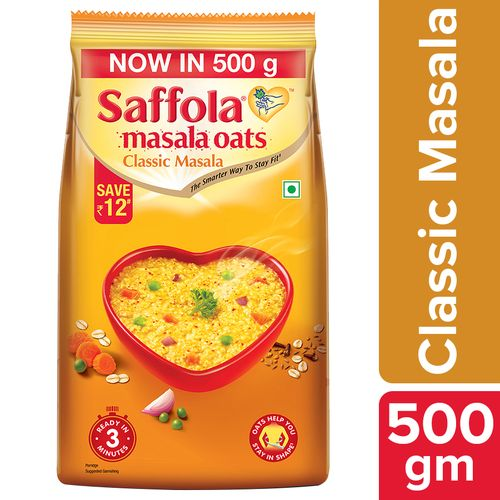 Saffola Masala Oats - Classic Masala, 500 g