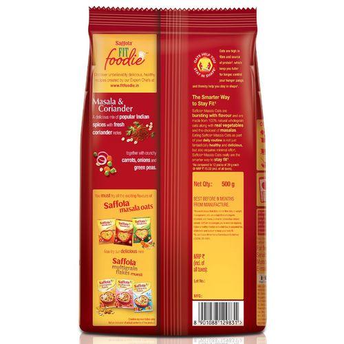 Saffola Masala Oats - Masala & Coriander, 500 gm