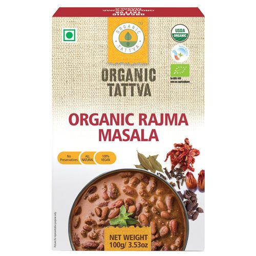 Organic Tattva Organic - Rajma Masala, 100 gm