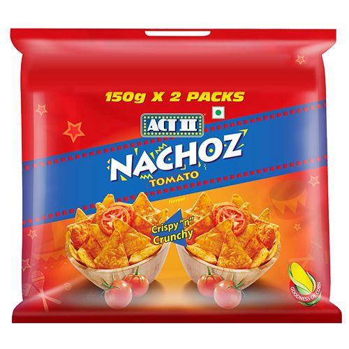 ACT II Nachoz - Tomato, 150 gm Pack of 2