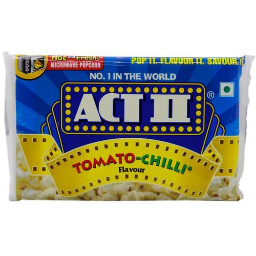 ACT II Microwave Popcorn- Tomato Chilli, 106 gm