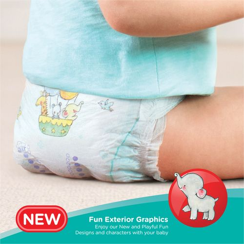 Pampers  Diapers Pants - Large Size, New, 2's pack