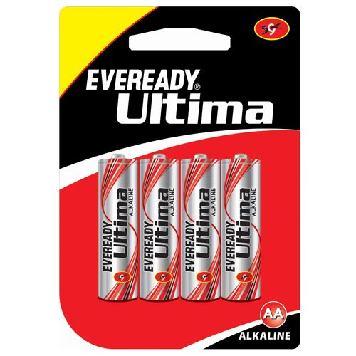 Eveready Alkaline AA BP4 Ultima 2115, 4 pcs