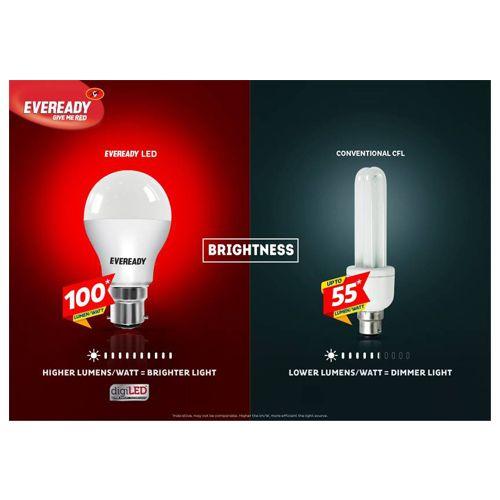 Eveready LED Bulb - 9W, 1 pc