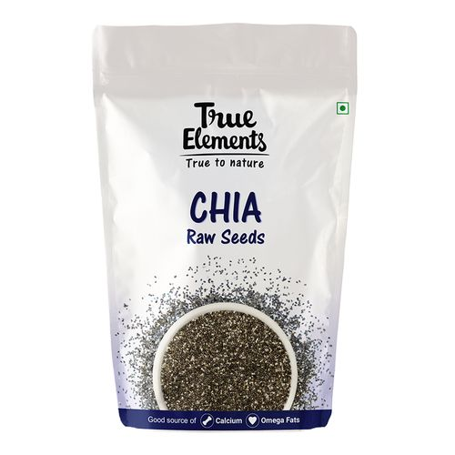 True Elements Chia Seeds - Raw, 1 kg