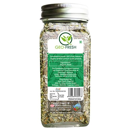 Geo-Fresh Basil - Organic, USDA Certified, 20 gm 20gm
